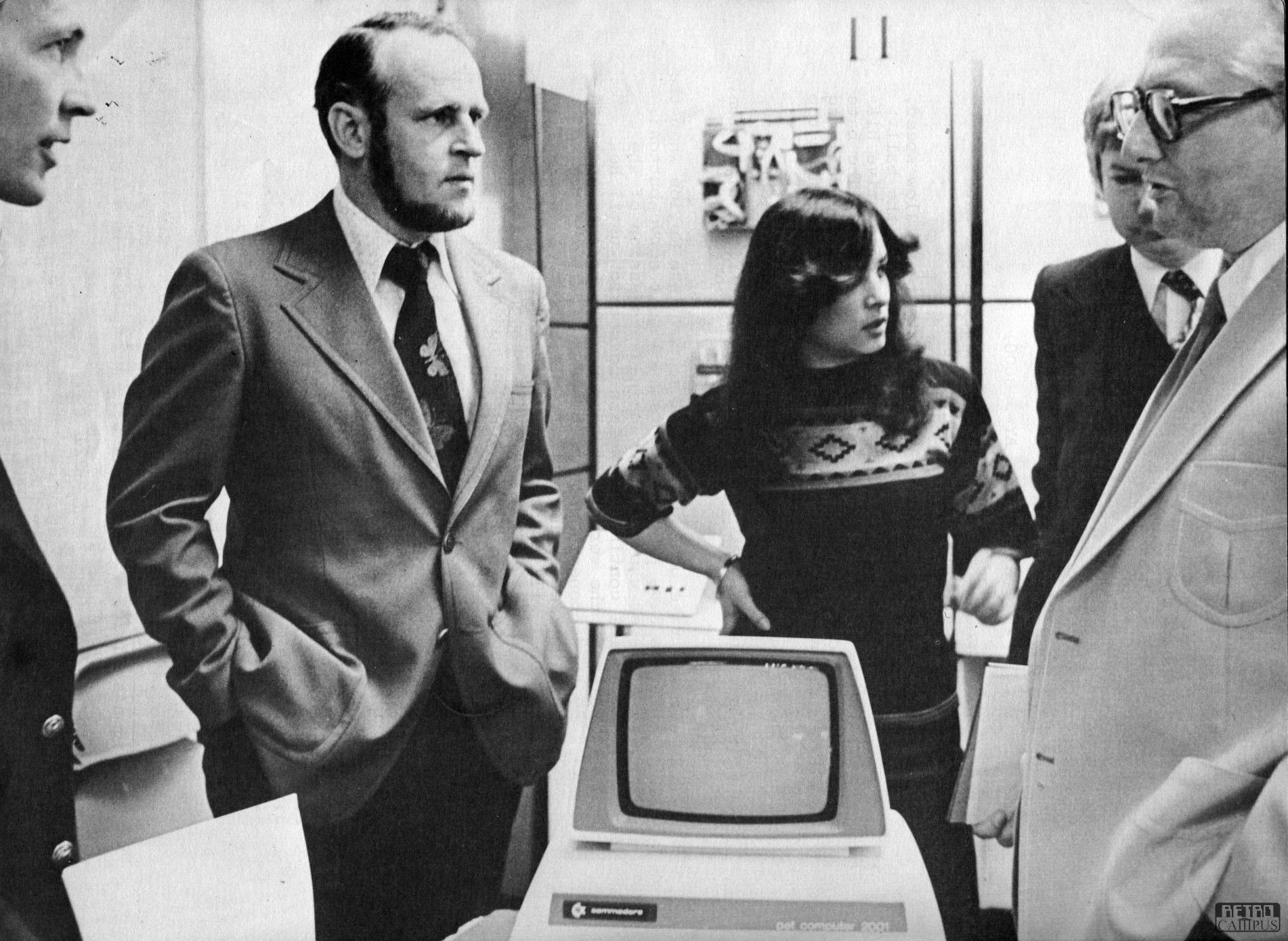 Chuck Peddle presenteert PET op Gametronics 1977